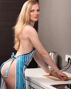 heisse Hausfrau